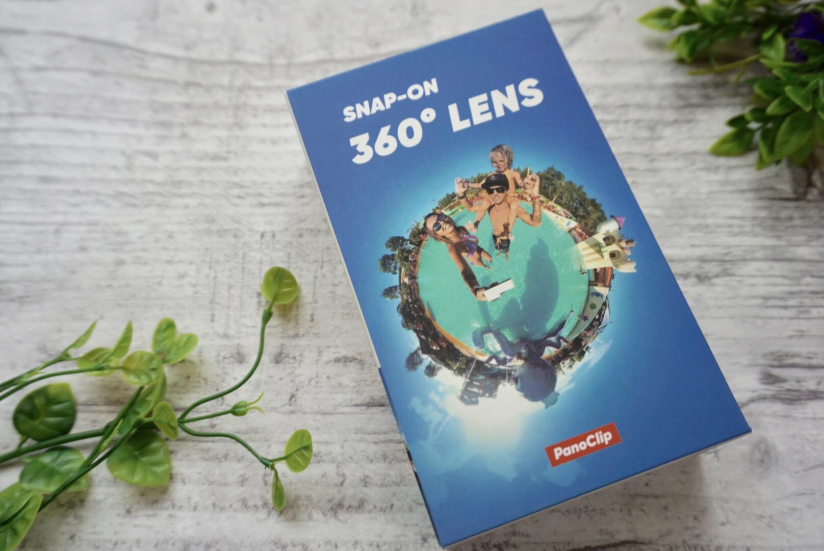 360°レンズ【PanoClip 】