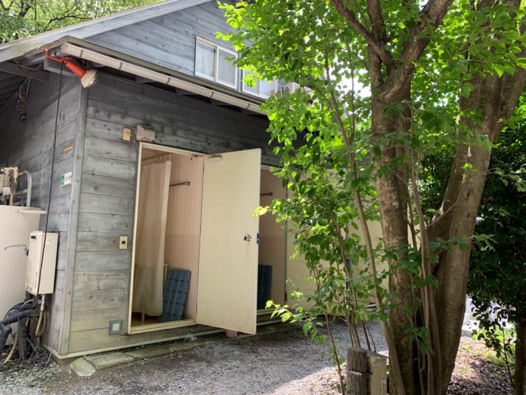 赤城オートキャンプ場 シャワー室